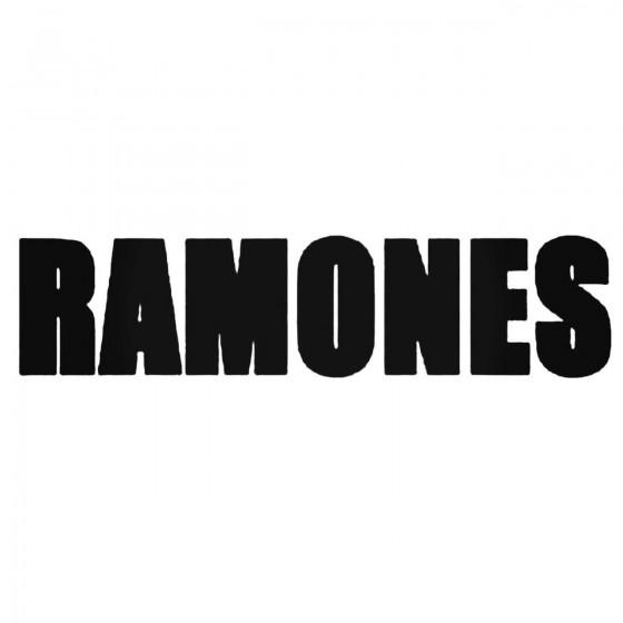 The Ramones 1 Decal Sticker