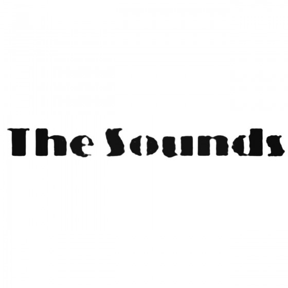 The Sounds Decal Sticker