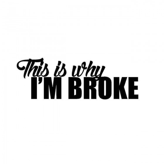 This Is Why Im Broke Vinyl...