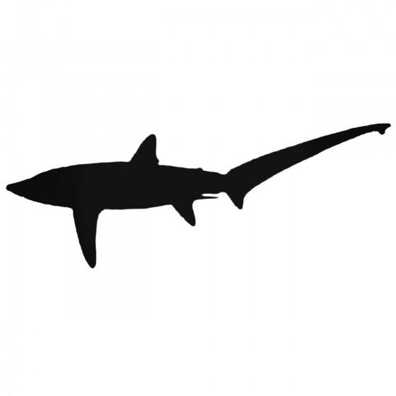 Thresher Shark Decal Sticker