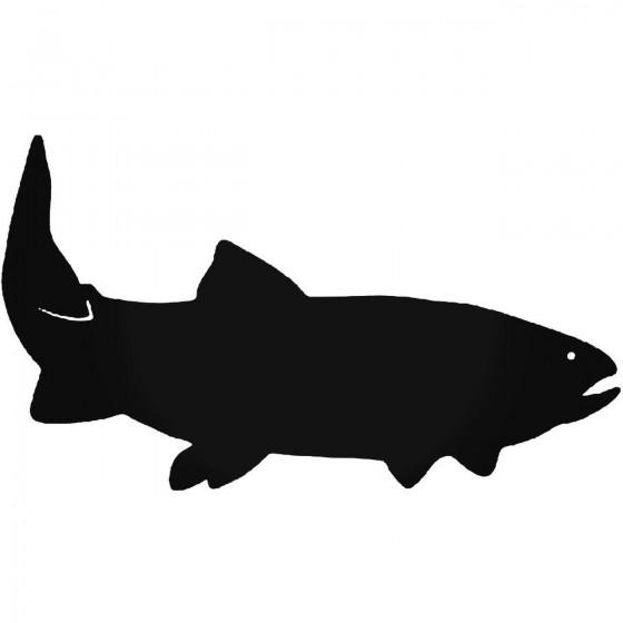 Throat Trout Fish Vinyl...