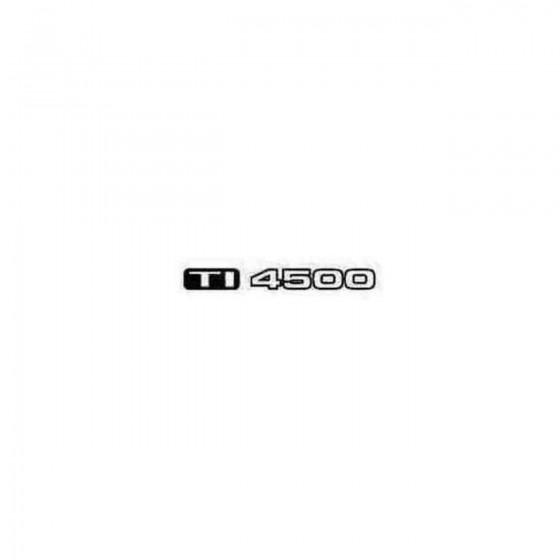 Ti4500 Decal Sticker