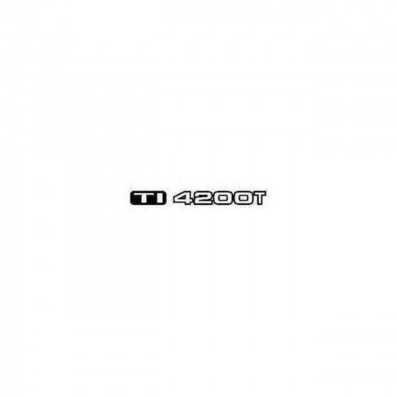 Ti4500t Decal Sticker