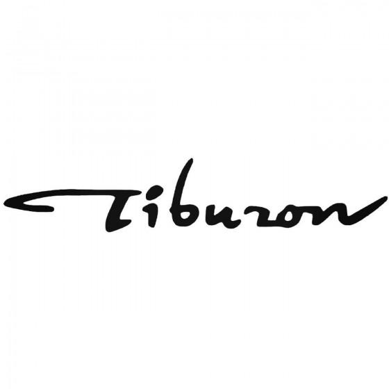 Tiburon Graphic Decal Sticker