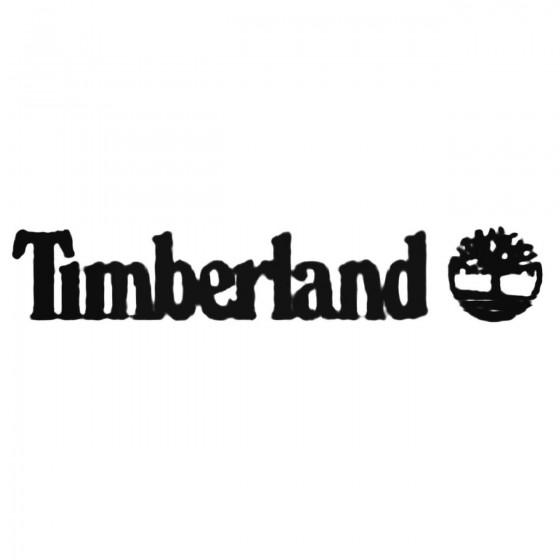 Timberland Decal Sticker