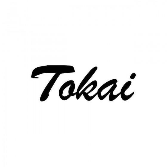 Tokai Vinyl Decal Sticker