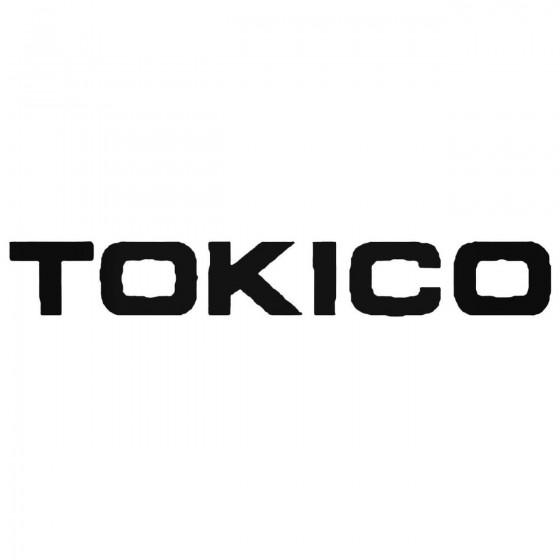 Tokico Shocks Decal Sticker