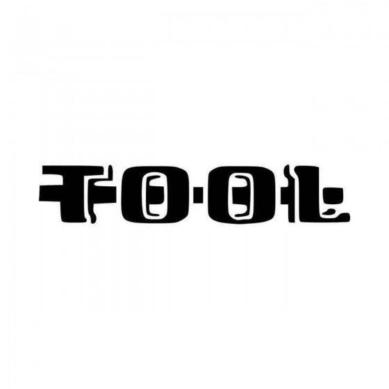 Tool Logo Vinyl Decal Sticker