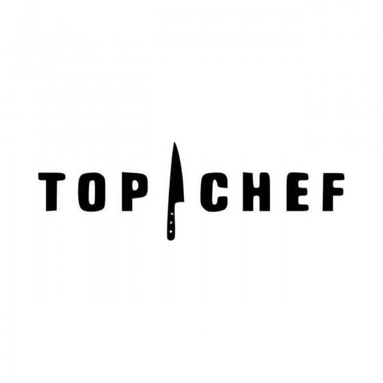 Top Chef Logo Vinyl Decal...