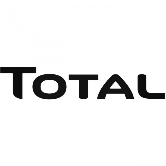 Total 1 Decal Sticker 1