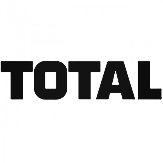Total 2 Decal Sticker 2