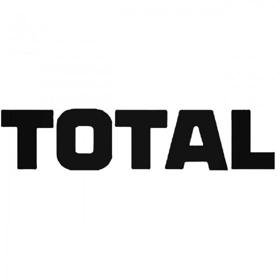 Total Vinyl Decal