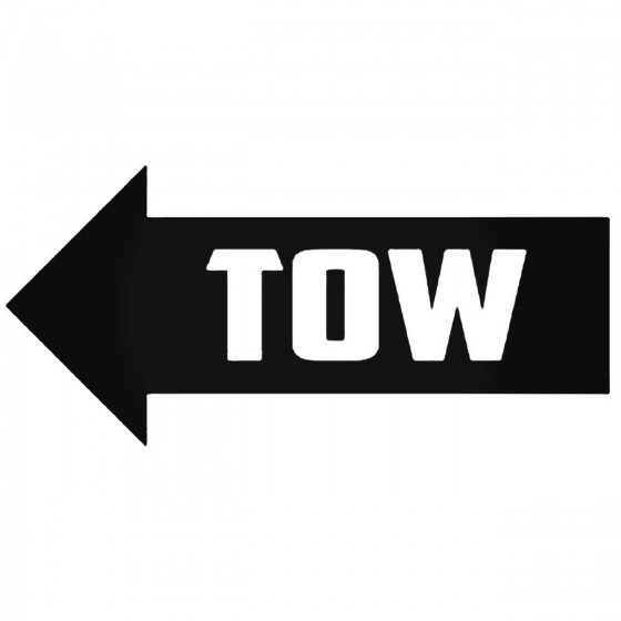 Tow 5 Decal Sticker
