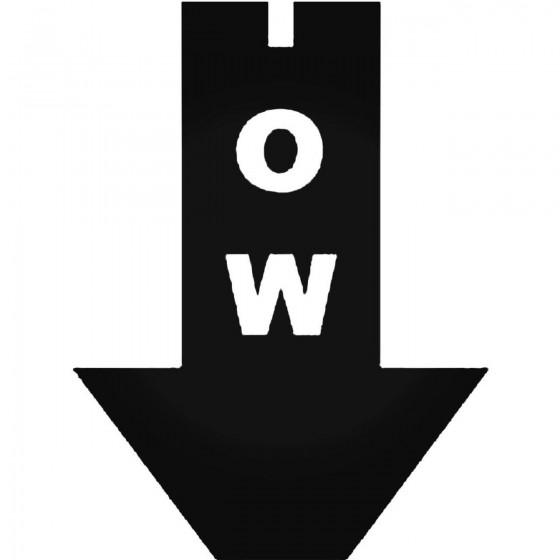 Tow Arrow Jdm Style 1 Decal...
