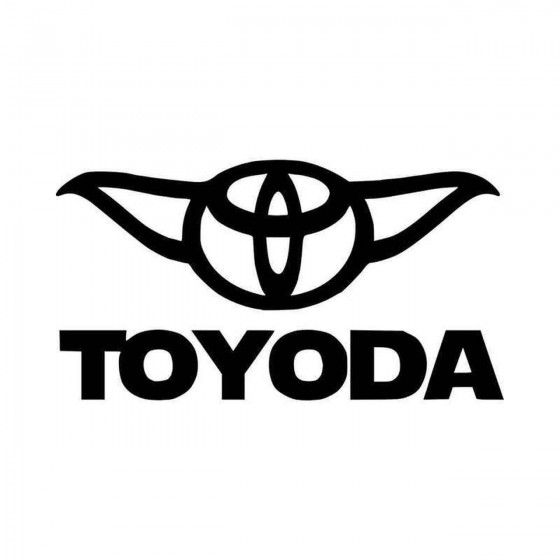 Toyoda Vinyl Decal Sticker