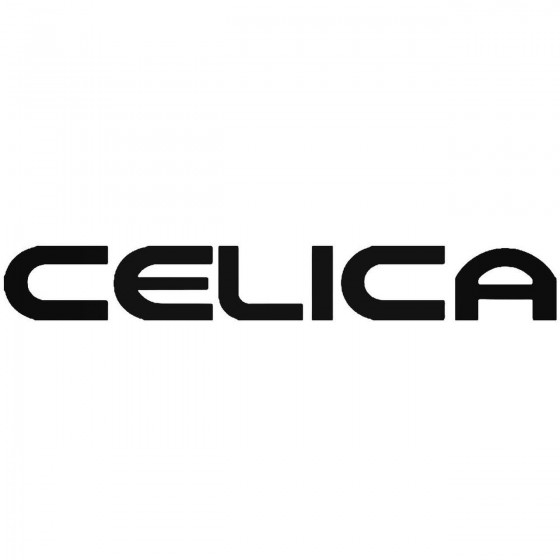 Toyota Celica Vinyl Decal...