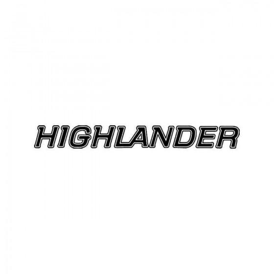 Toyota Highlander Vinyl...