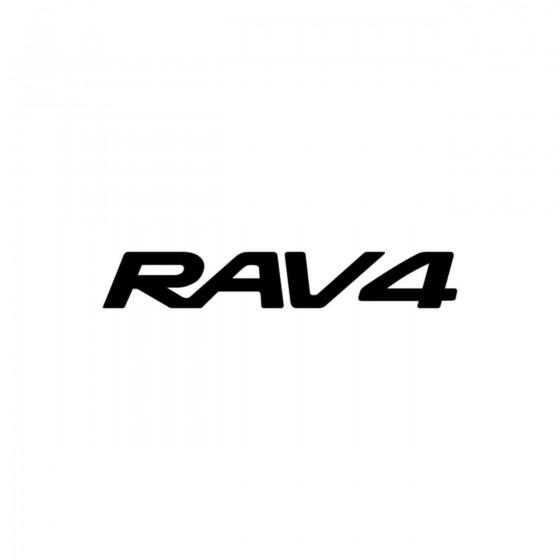Toyota Rav4 Vinyl Decal...