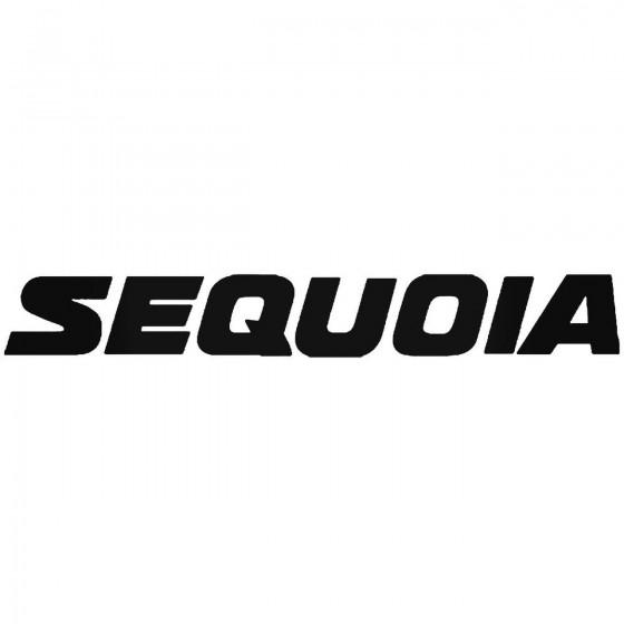 Toyota Sequoia Vinyl Decal...