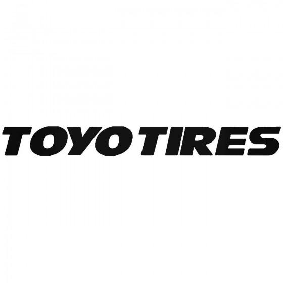 Toyo Tires 2 Vinyl Decal...