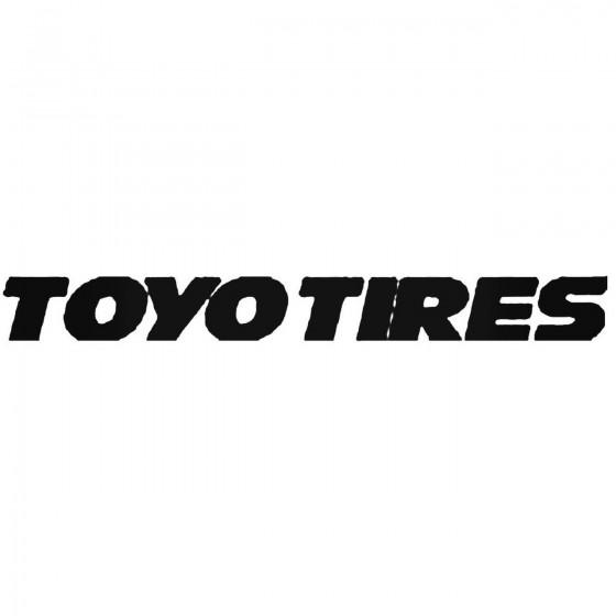 Toyo Tires Vinyl Decal