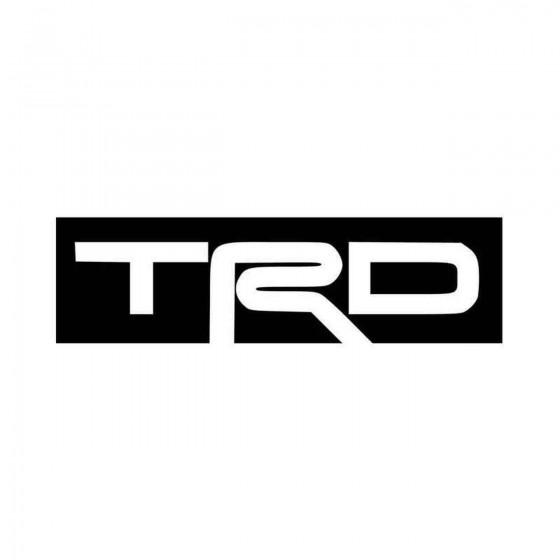 Trd Logo Vinyl Decal Sticker