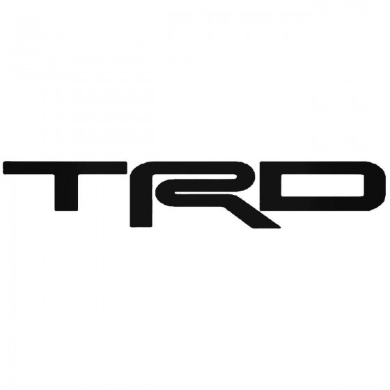 Trd Toyota Vinyl Decal Sticker