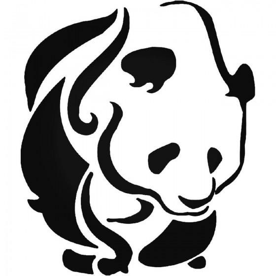 Tribal Panda Bear Vinyl...