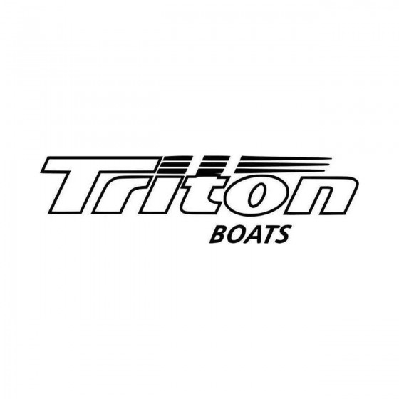 Triton Boats Vinyl Decal...