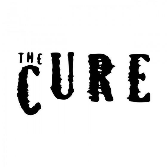 Tthe Cure V Vinyl Decal...