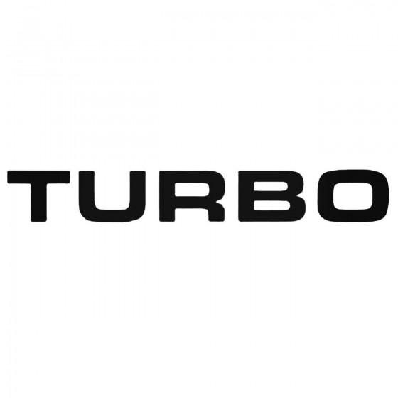 Turbo Jdm Decal Sticker