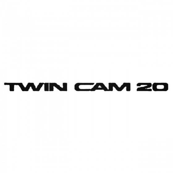 Twin Cam 16 Valve Decal...