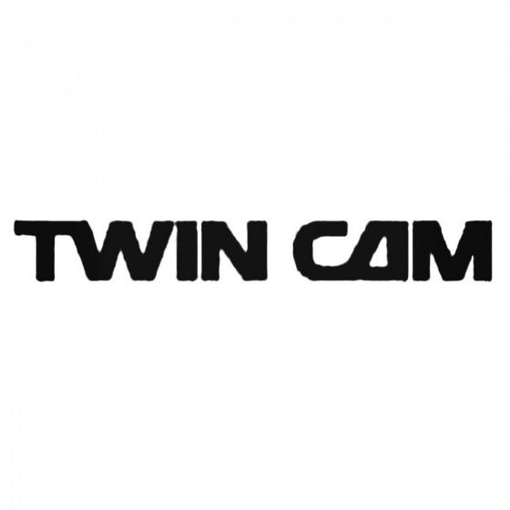 Twin Cam Decal Sticker