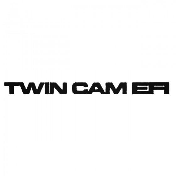 Twin Cam Efi Decal Sticker