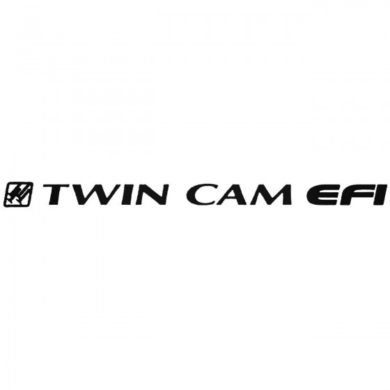Twin Cam Graphic Decal Sticker