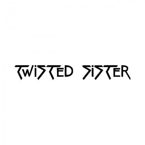 Twisted Sister Band Logo...
