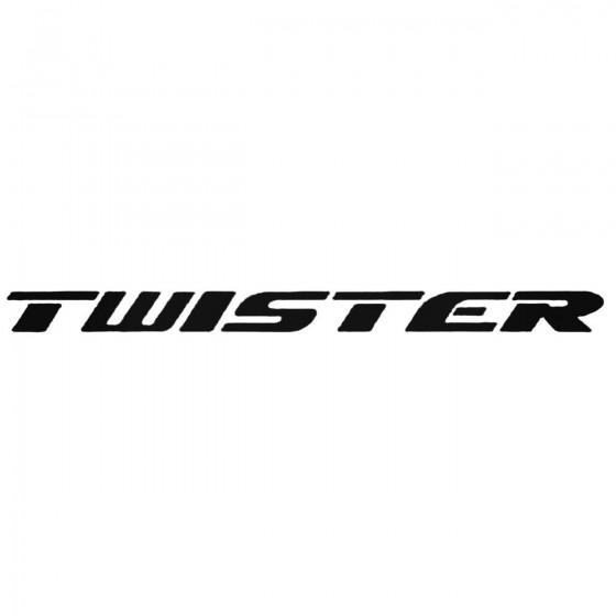 Twister Decal Sticker