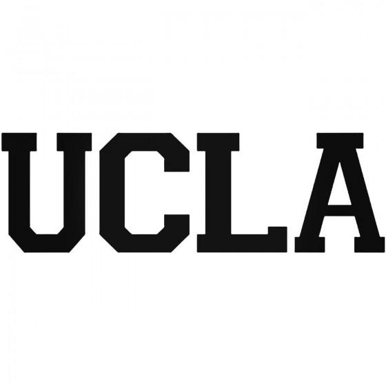 Ucla 39 Decal