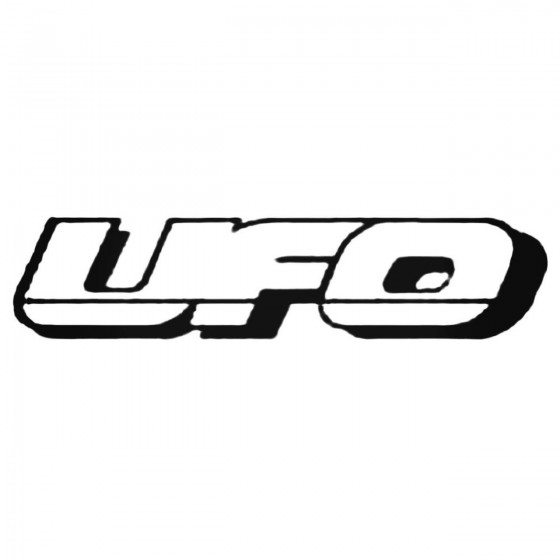 Ufo Decal Sticker