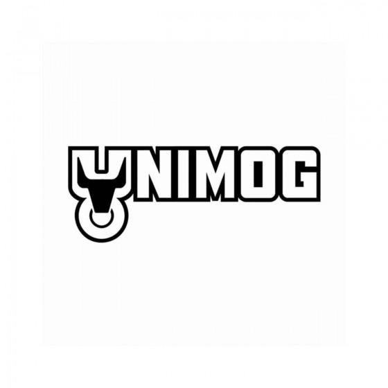 Unimog Logo Ecriture Vinyl...