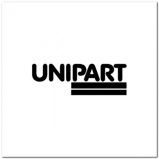 Unipart Vinyl Decal