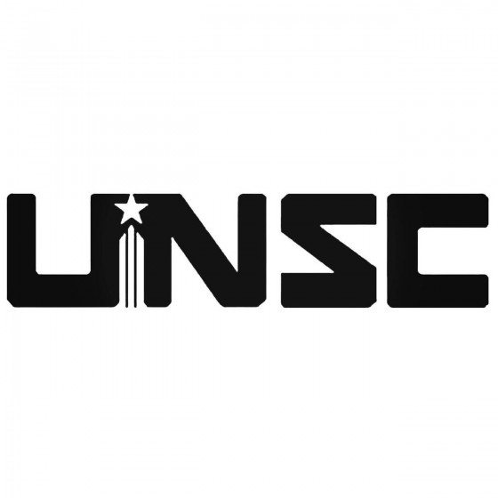 Unsc Simple Halo Decal Sticker