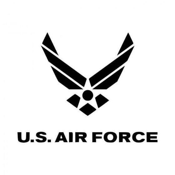 Us Air Force Vinyl Decal...