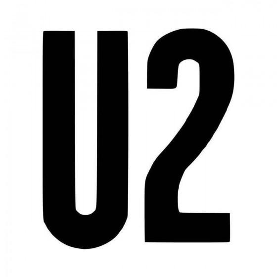 U Vinyl Decal Sticker