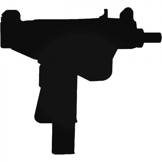 Uzi Machine Machine Decal...