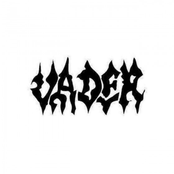 Vader Decal Sticker