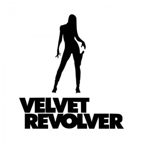 Velvet Revolver Vinyl Decal...