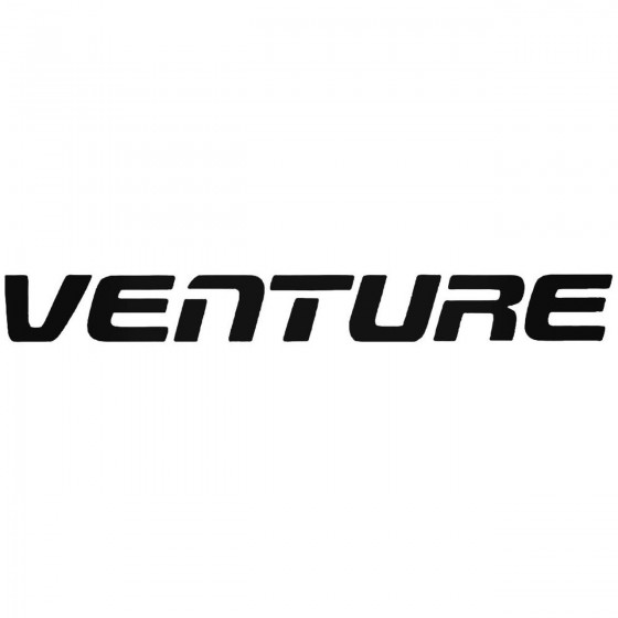 Venture Graphic Decal Sticker
