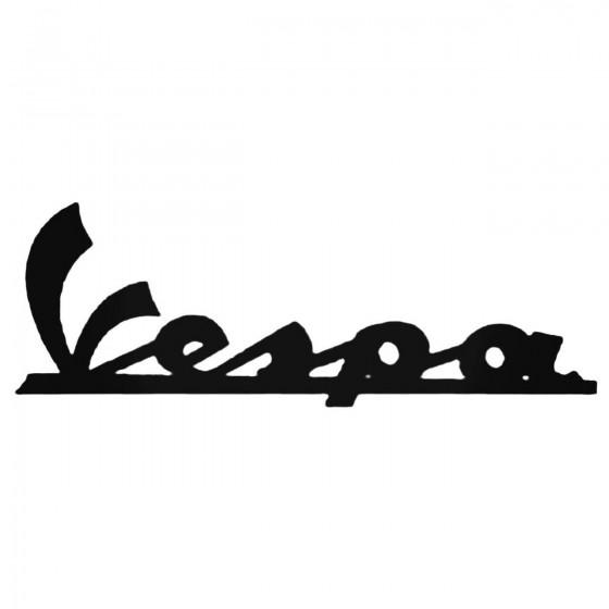 Vespa Aftermarket Decal...
