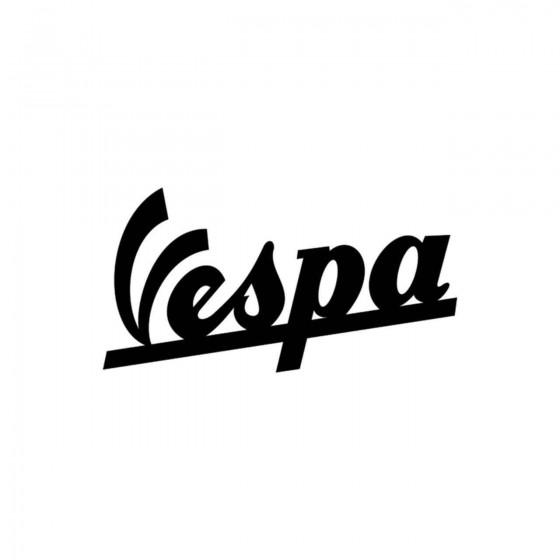 Vespa Logo 2 Vinyl Decal...